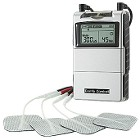 transcutaneous electrical nerve stimulation TENS therapy ex. Comfy Tens